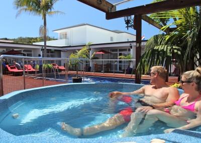 Commodores Lodge Spa Pool