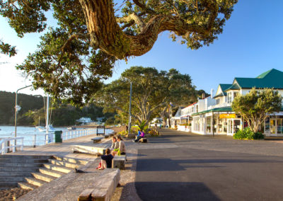 Quiet seaside town of Russell